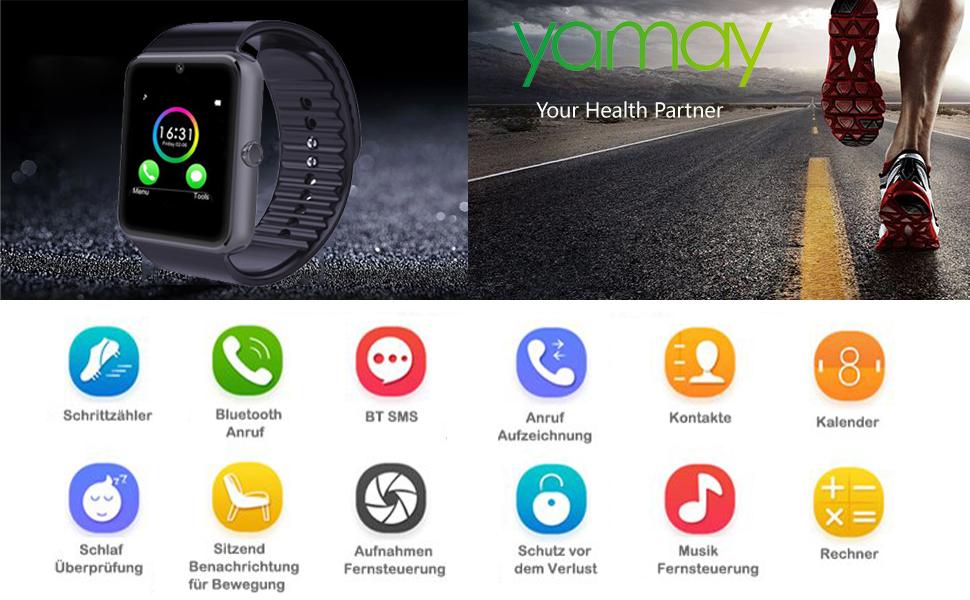 YAMAY Smartwatch SW016