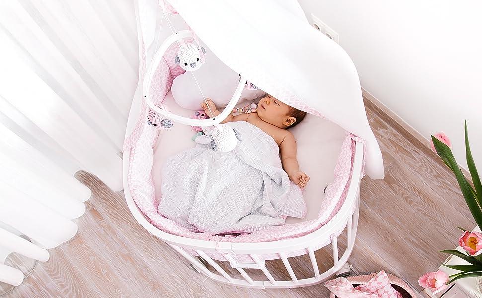 Tweeto babybett kinderbett 7 in 1 komplett set massiv buchenholz