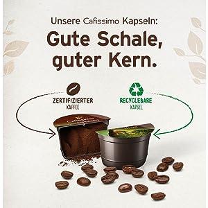 Cafissimo Kapseln caffe Crema vollmundig