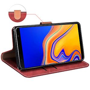 Mobesv Samsung Galaxy J4 Leather Case Galaxy J4 Plus Elektronik