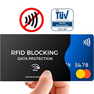 Kreditkarten Schutzhülle