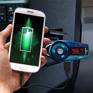 Gogroove Bluetooth Fm Transmitter Auto Radio Bluetooth Elektronik