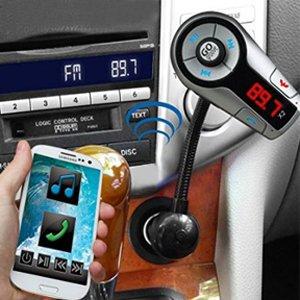 Gogroove Flexsmart X2 Bluetooth Fm Transmitter Für Auto Radio Mit Usb Ladegerät Multipoint Musiksteuerung Freisprecheinrichtung Mikrofon