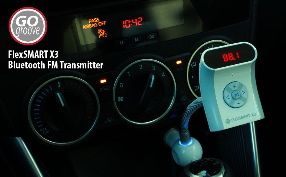 Gogroove Bluetooth Fm Transmitter Empfänger Elektronik