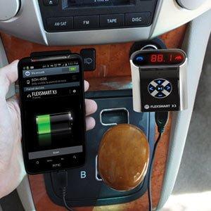 Gogroove Bluetooth Fm Transmitter Empfänger Kfz Radio Adapter Kabelloses Ladegerät Für Das Auto Und Handy Freisprechfunktion Für Smartphone Wie Samsung Galaxy Huawei Iphone Lenovo Und Mehr Handys Audio Hifi