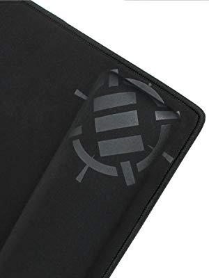 Galaxy ENHANCE XXL Large Extended Gaming Mauspad mit ergonomischer Memory Foam-Handballenauflage - Anti-Fray-N/ähte und weiche Polstermattenoberfl/äche 31,5 x 13,78 x 1 Zoll