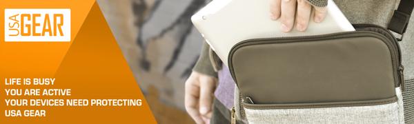 Usa Gear 10 Zoll Hülle Für Tablet Hülle Kompatibel Mit Computer Zubehör