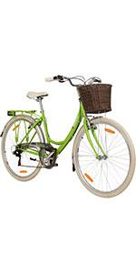 galano valencia 700c damenfahrrad hollandrad citybike 28 zoll 6 gang fahrrad stadtrad