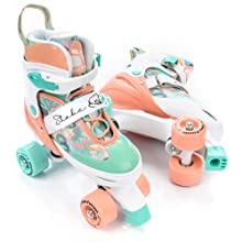 Kinder Quad Skate Jugend Rollschuhe meteor/® Retro Rollschuhe: Disco Roller Skate wie in den 80er Jahren Einstellbare Gr/ö/ße des Schuhs 5 Verschiedene Farbvarianten