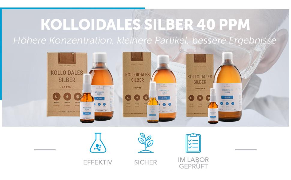Silberwasser 40PPM