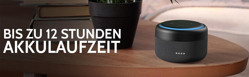 Echo Dot Akku 3 Generation Powerbank Und Kabellos Amazon De Elektronik