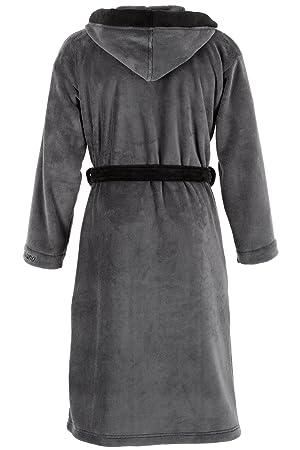 di ficchiano herren bademantel monza mit kapuze bekleidung. Black Bedroom Furniture Sets. Home Design Ideas
