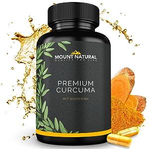 Premium Curcuma Kapseln Bioperine