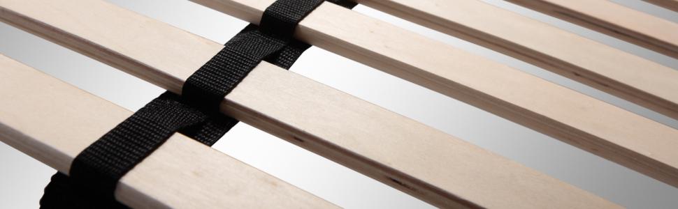 Lattenrost aus Metall mit Verstellbereich 140x200 160x200 180x200 200x200