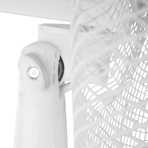 Wei/ß 16 gro/ß, 60/° neigbar, 3 Stufen Stagecaptain SV-160 PolarPower 16 Standventilator