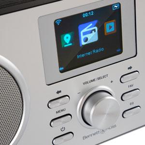 Modernes Hi-Fi Internet Radio Anlage MP3 Bluetooth Wireless