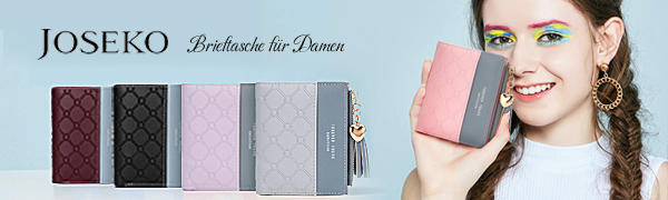 JOSEKO Kartenhalter Brieftasche