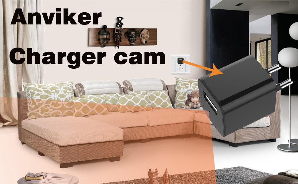 1080P HD AC Adapter tragbare kleine Kamera Mini kamera ...