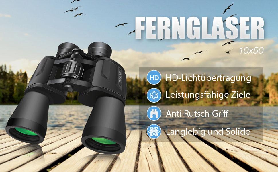 Brigenius fernglas binocular ferngläser vergrößerung für fußball