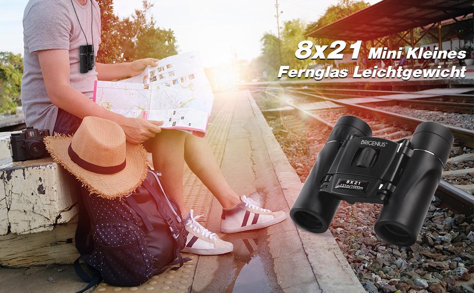 Mini kleines fernglas leichtgewicht für amazon kamera