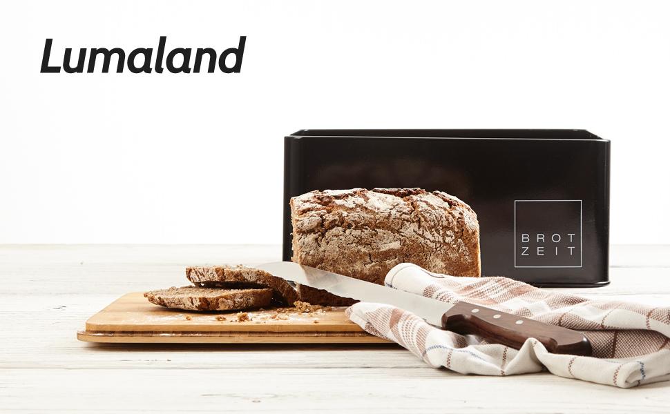 Lumaland Amazon Brotbox Brotkasten Home and Living