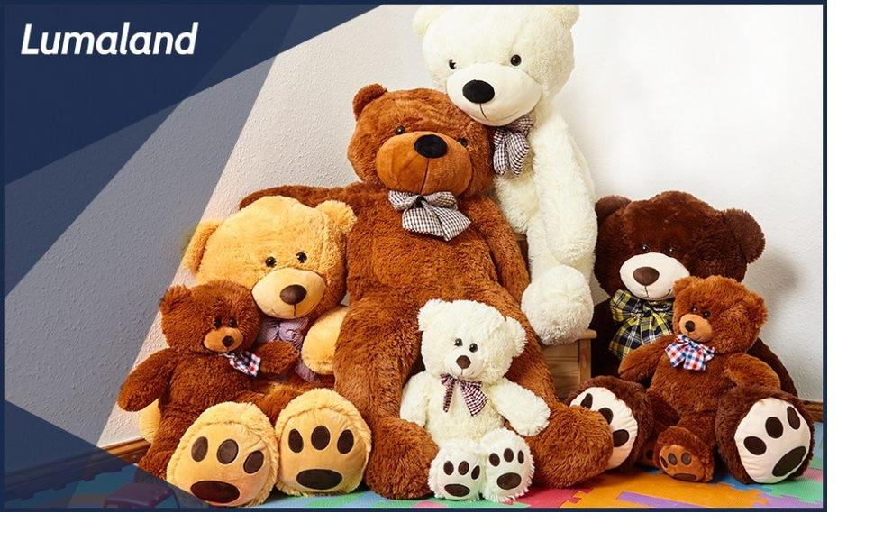 Teddy Lumaland Teddybär Amazon Home and Living