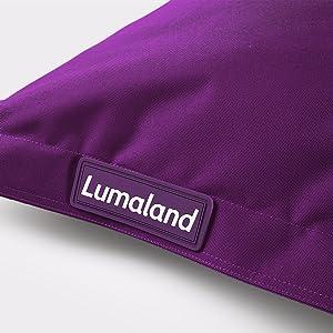 Lumaland Luxury Riesensitzsack Xxl Sitzsack 380l Füllung 140 X 180