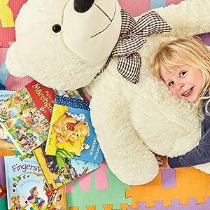 XXl Teddy Junge Mädchen Geschenk Flauschig