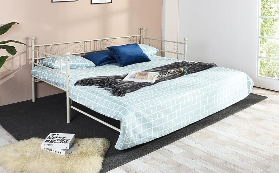 EGGREE Schlafsofa Tagesbett Einzelbett Doppelbett