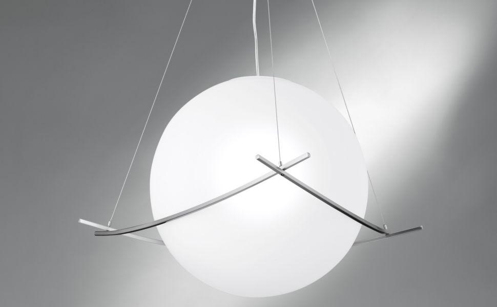 NEG Hängeleuchte GrandePalloni (40,5cm Kugel-Durchmesser ...