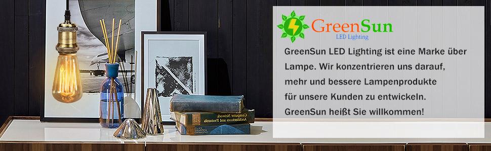 GreenSun LED Lighting 10M Textilkabel Stromkabel Stoffkabel Lampen-Kabel 2-ad...