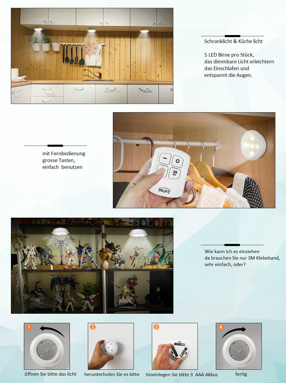 Fein Installation Kann Lichter In Der Küche Bilder - Elektrische ...