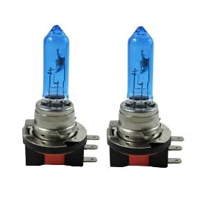 Zenxeay H15 Xenon Optik Auto Lampe Tagfahrlicht Fernlicht 55w 12v Super White Vision Halogen Birne 2 Stück Auto