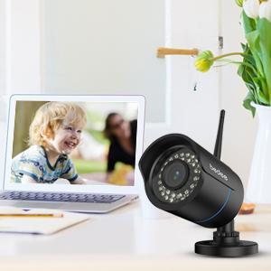 Безжична камера за наблюдение.