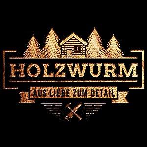 HOLZWURM Logo