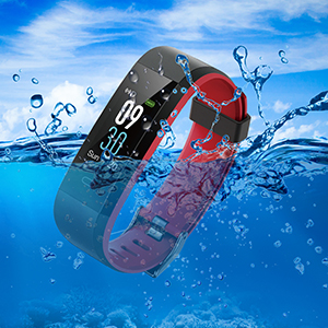 CHEREEKI fitness tracker wasserdichte ip68