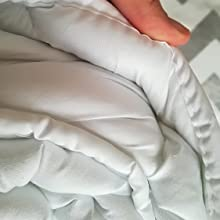 Couette ultra légère pour les personnes allergiques - Confortable - Lavable - Anti-acariens - Pour les petits enfants