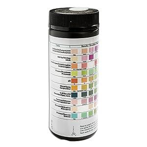 Salud prueba para 8 Indicadores 100 unidades con referencia Color tarjeta