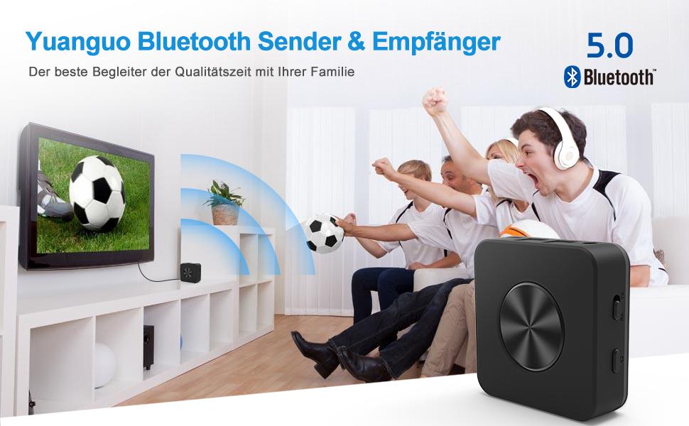 Yuanguo Bluetooth Adapter Audio Bluetooth Empfänger Und Elektronik