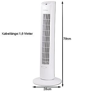 Ventilator mit Zeiteinstellung automatische abschaltung timer