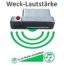 Uhrenradio Wecker mit Radio XXL große Ziffern einstellbare lautstärke beim wecken