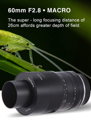 7artisans 60mm F2 8 Aps C Makro Objektiv Fest Objektiv Kamera