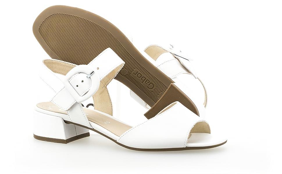 Gabor 81.742 Damen Riemchen Sandale,Sandalette,Sommerschuh,Absatz