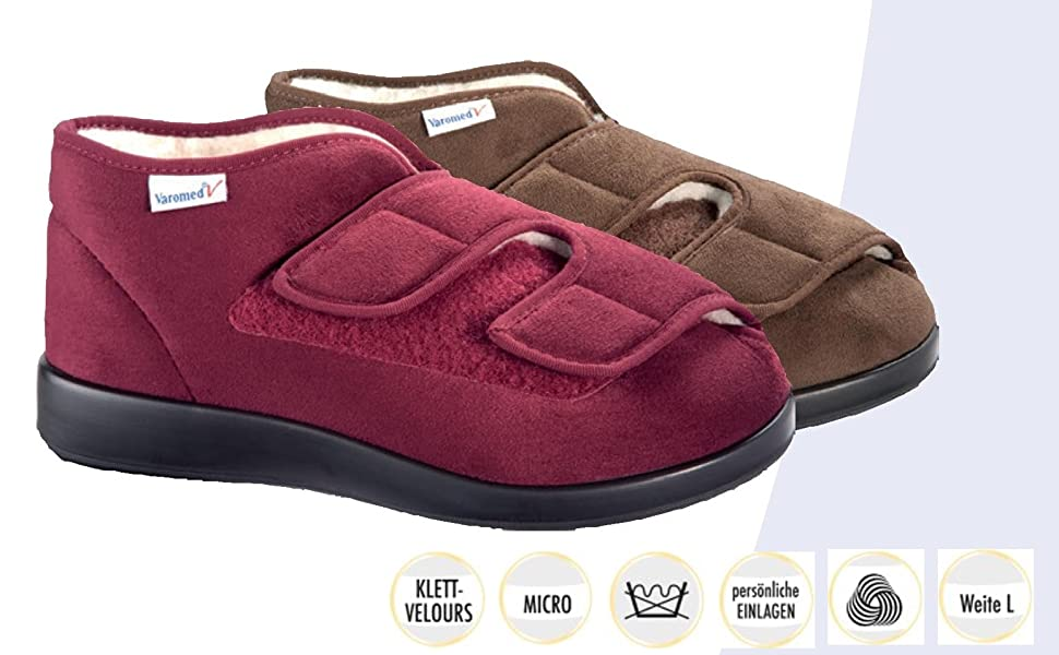 Chaussons mixte adulte Varomed Genua 60.920-60
