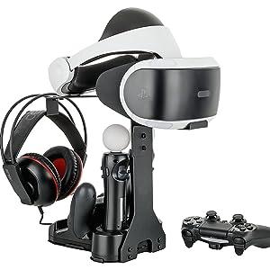 GAMINGER Multi-Ladestation für 2 PlayStation 4 / Slim