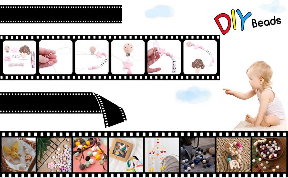 Auswahl Design Neu Baby Mini Hängendes Herz mit Wortlaut