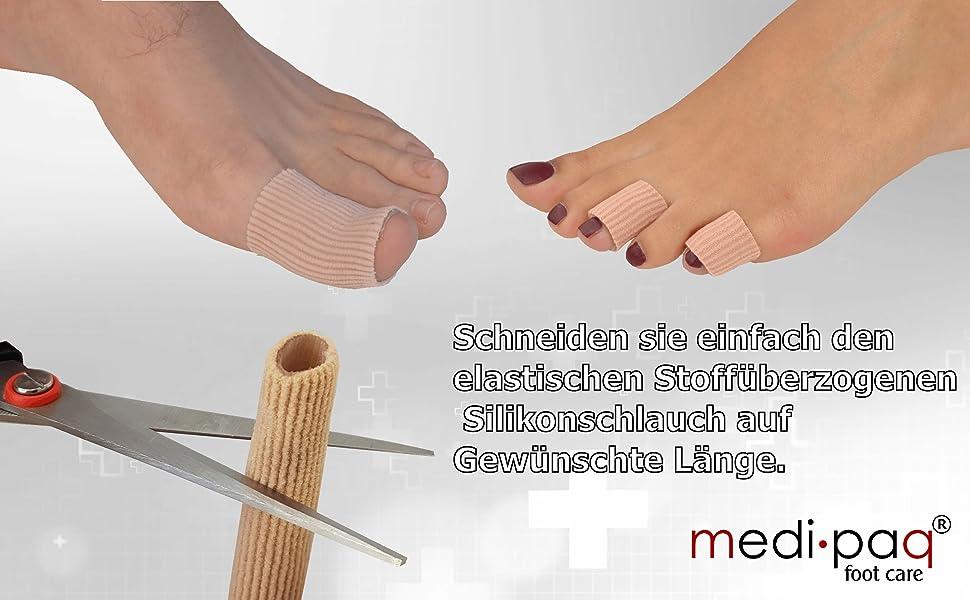 GEL Schlauch Zehen Finger  Blasen, Hühneraugen Hornhaut oder die wunde Finger Zehen verursachen.