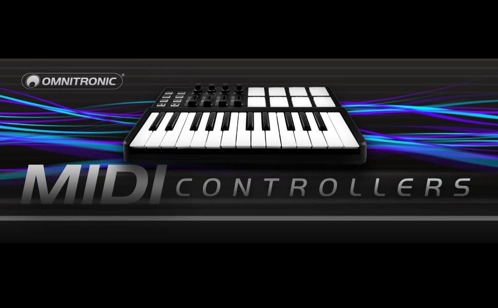 OMNITRONIC 11045070/Fad//Midi Controller