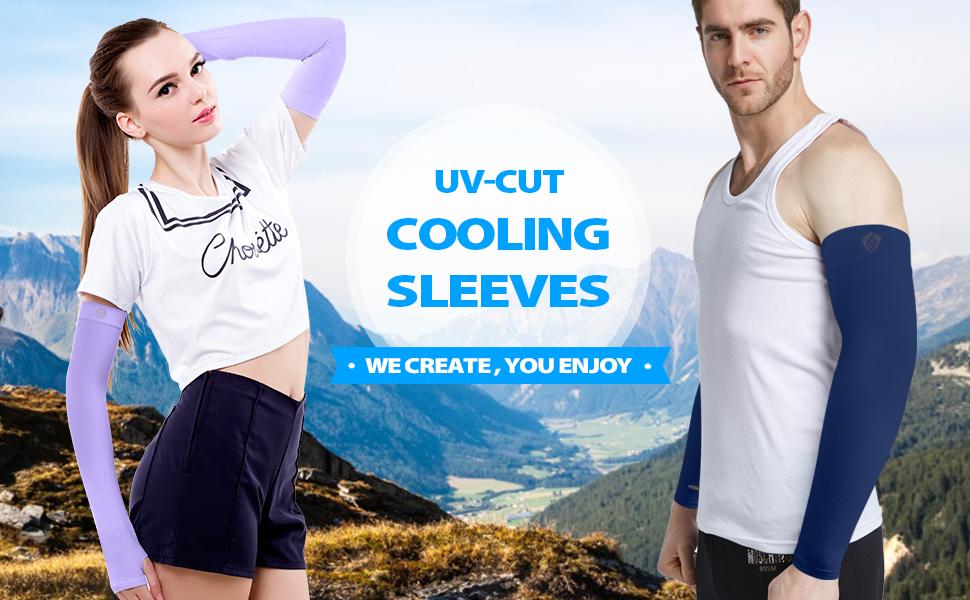 UV-koelende sleves