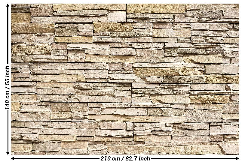 Fototapete steinoptik 3d wandbild dekoration stein tapete - Steinwand tapete 3d ...